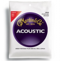 3 Sets of Martin M540 Phosphor Bronze Acoustic Guitar Strings 12-54