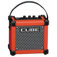 Roland Microcube GX Battery or Mains Operated Amp in Red, Secondhand