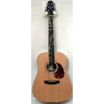 Jimmy Moon RD3 Electro Acoustic Guitar in Natural