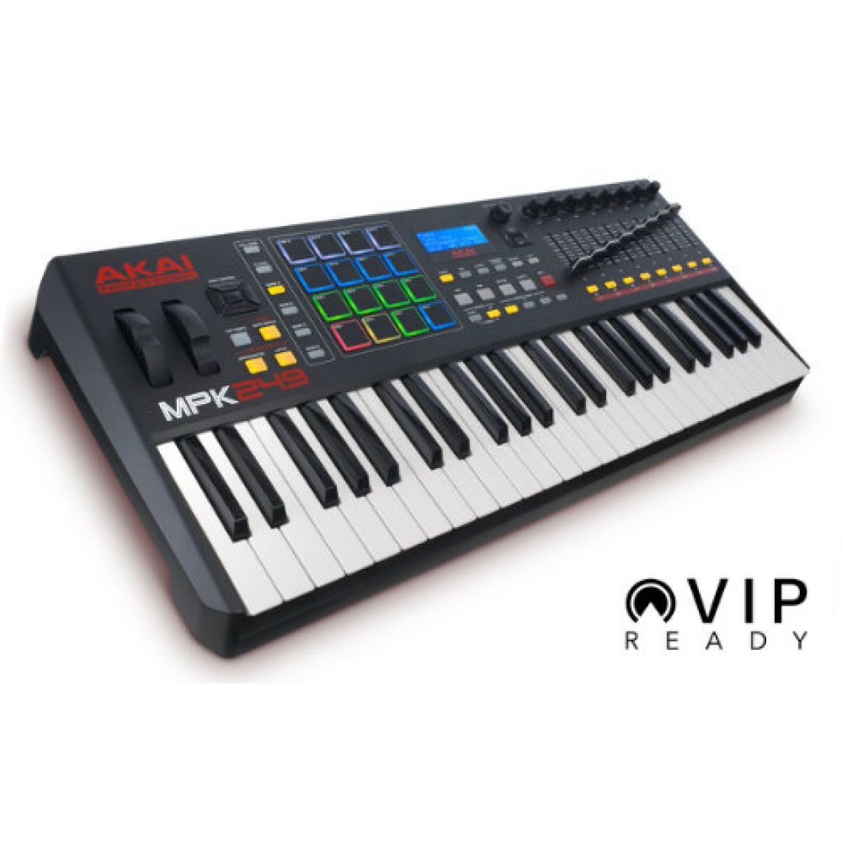 Midi Controller Software For Live Performance : akai mpk249 performance keyboard controller for vip at promenade music ~ Russianpoet.info Haus und Dekorationen