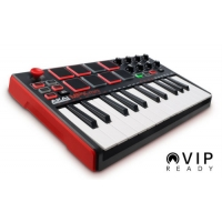 Akai MKP Mini Mk II Compact Keyboard and Pad Controller