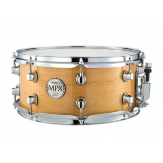 "Mapex MPX 13""X6"" Maple Snare Drum In Natural or Black"