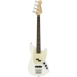 Fender American Performer Mustang Bass, Arctic White