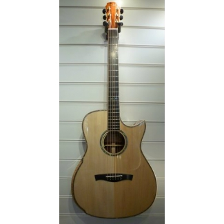 Maestro Victoria CO CSB A OOO Size Electro Acoustic Guitar With Case