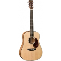 Martin DJRE Dreadnought Junior in Natural with Gig Bag