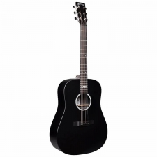 Martin DX Johnny Cash Electro Acoustic Guitar in Black with Gig Bag