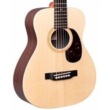 Martin LX1R Acoustic Travel Guitar in Natural with Gig Bag