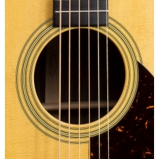 Martin OM28 American Acoustic Guitar In Natural & Hard Case (Reimagined)