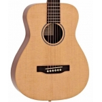 Martin LX1E Little Martin Electro Acoustic Travel Guitar With Padded Bag