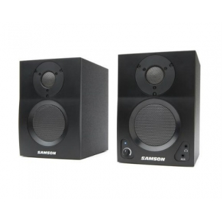 Samson Media One BT3 Active Studio Monitors with Bluetooth, Used