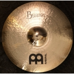 "Meinl Byzance 16"" Brilliant Medium Thin Crash Cymbal"