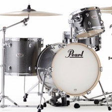 Pearl Midtown 4-piece Shell Pack in Granite Sparkle with Bag Set