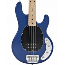 Music Man (USA) Stingray 3EQ 4 String Bass in Blue Pearl inc Case, Secondhand