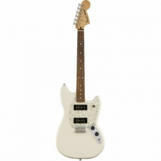 Fender Mexican Mustang 90 Electric Guitar With P90's in Olympic White