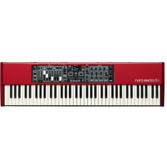 Nord Electro 5D 73 - 73 Note Semi-Weighted Waterfall Keyboard