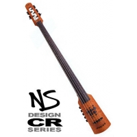 NS Design CR5 Omni Bass Amber Stain Flame Maple