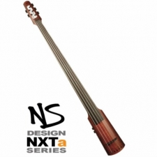 NS Design NXTa Active Electric Upright Bass in Amber Inc Padded Gig Bag