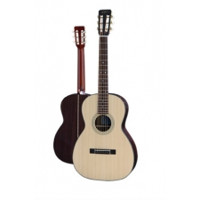 K Yairi Handmade Japanese New Yorker NY0021B Parlour Size Acoustic in Natural