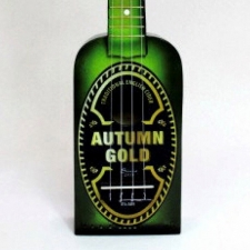Nukulele Autumn Gold Bottle Ukulele