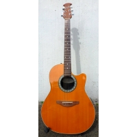 Ovation 1761 USA Made Electro Acoustic Guitar, Amber Stain