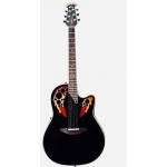 Ovation 6778LX Stanard Elite Electro Acoustic In Black, Pre Owned