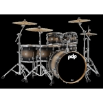 PDP Concept Maple 6pc Kit inc FREE Concept Throne