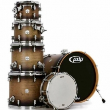 PDP Concept Maple CM6 6-Piece Kit in Satin Charcoal Burst with Hardware