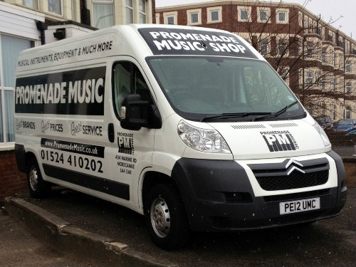 House To House Move of Musical Instrument - 12 Miles Round Trip Same Day Service