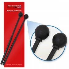 Percussion Plus PP068 Medium Rubber Beaters - Pair