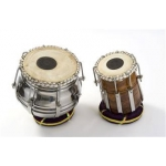 Percussion Plus PP1100 Pair Of Tabla Drums For Indian Music