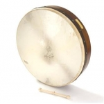 "Percussion Plus PP1112 Bodhran 18"" plain body"