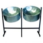 Percussion Plus PP446 Double Second Steel Pans For Caribbean Music