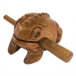 Percussion Plus PP623 Frog with Scraper