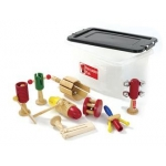 Percussion Plus PP730 K. Kit Of 6 Wooden Instruments