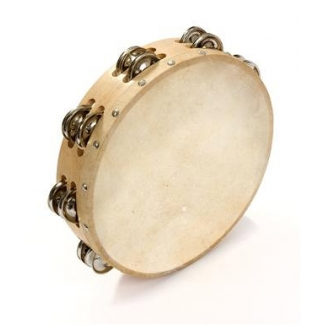 "Percussion Plus PP874 10"" Double Row Tambourine"