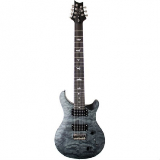 PRS SE Stealth Series 7-String Electric Guitar in Satin Quilt Grey
