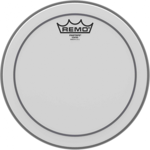 """Remo Pinstripe 10"""" Coated Batter Top Head (PS011000)"""