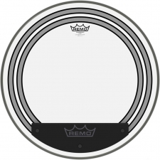 "Remo Powersonic 20"" Clear Bass Drum Head W/ Internal Subsonic Dampening Rings (PW132000)"