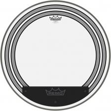 "Remo Powersonic 22"" Clear Bass Drum Head W/ Internal Subsonic Dampening Rings (PW132200)"