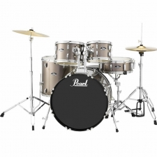 """Pearl Roadshow American Fusion 22"""" Kit In Bronze With Hardware & Cymbals"""