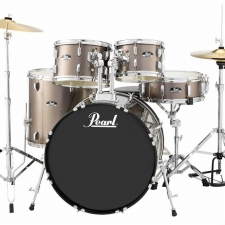 "Pearl Roadshow American Fusion 22"" Kit In Bronze With Hardware & Cymbals"