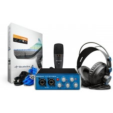 PreSonus AudioBox 96 Studio Bundle - With Interface, Mic & Headphones