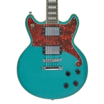 D'AngelicoPremier Brighton Solid Body Electric Guitar in Ocean Turquoise