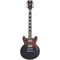 D'Angelico Premier Brighton Solid Body Electric Guitar in Black