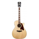 D'Angelico Premier Gramercy Grand Auditorium Electro Acoustic in Natural