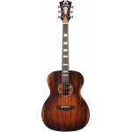 D'Angelico Premier Tammany OM Electro Acoustic in Aged Mahogany