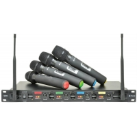 Chord QU4 C Quad UHF Wireless System (Handheld)