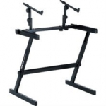 Quiklok Z726 Double Keyboard Z Stand
