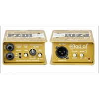 Radial PZ-DI Instrument DI Box for Acoustic & Orchestral Instruments