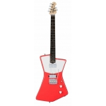 Sterling by Music Man St. Vincent HH Model, Fiesta Red